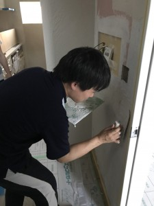 2018/7/15 塗り壁体験_180715_0008